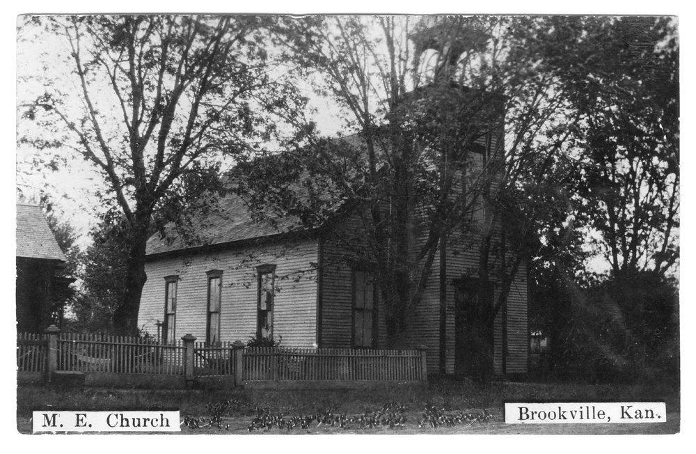 M.E. Church, Brookville, Saline County, Kansas