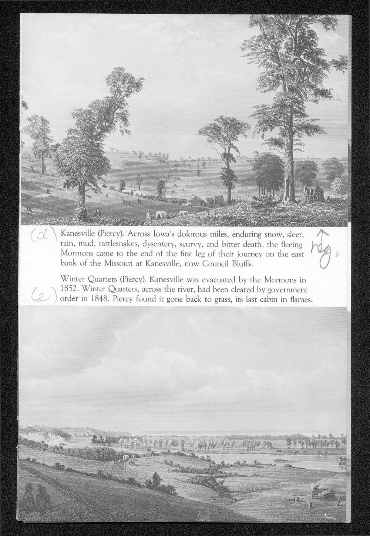 A Portfolio of Mormon Trail Engravings - 3
