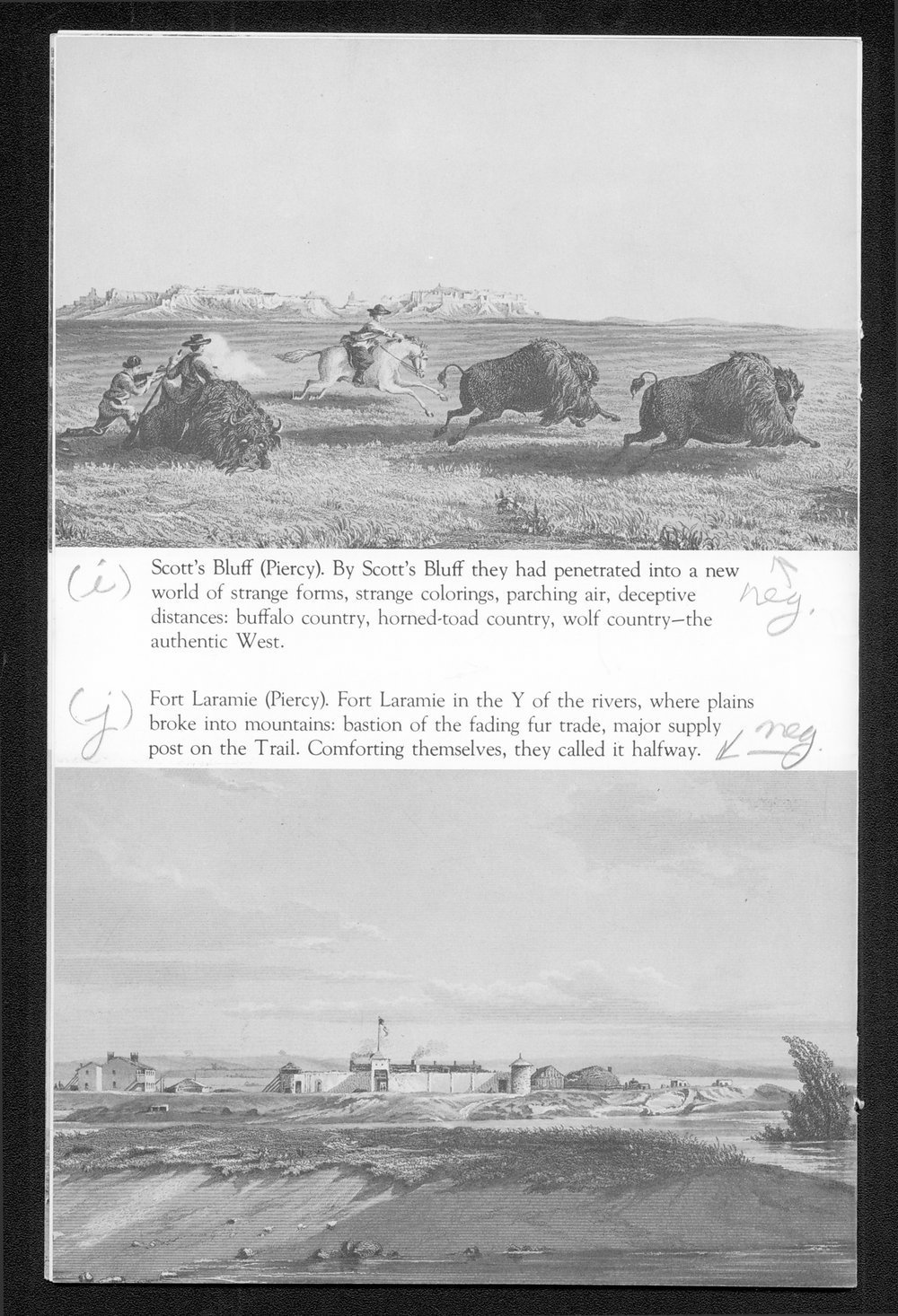 A Portfolio of Mormon Trail Engravings - 6