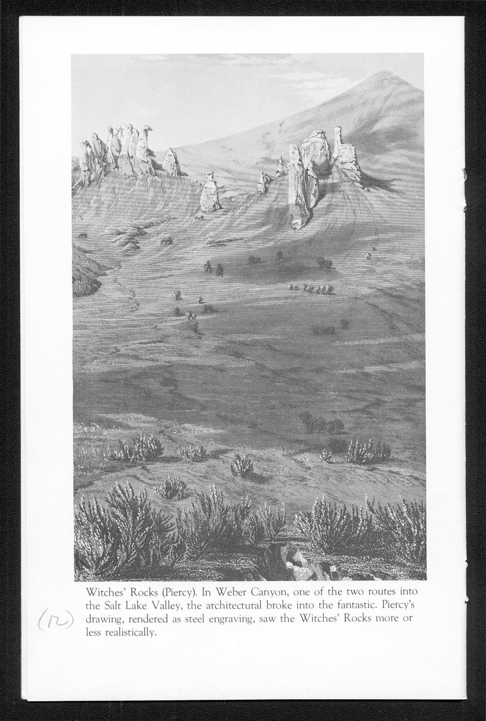 A Portfolio of Mormon Trail Engravings - 12