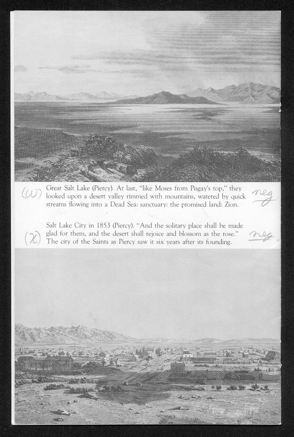 A Portfolio of Mormon Trail Engravings - 16