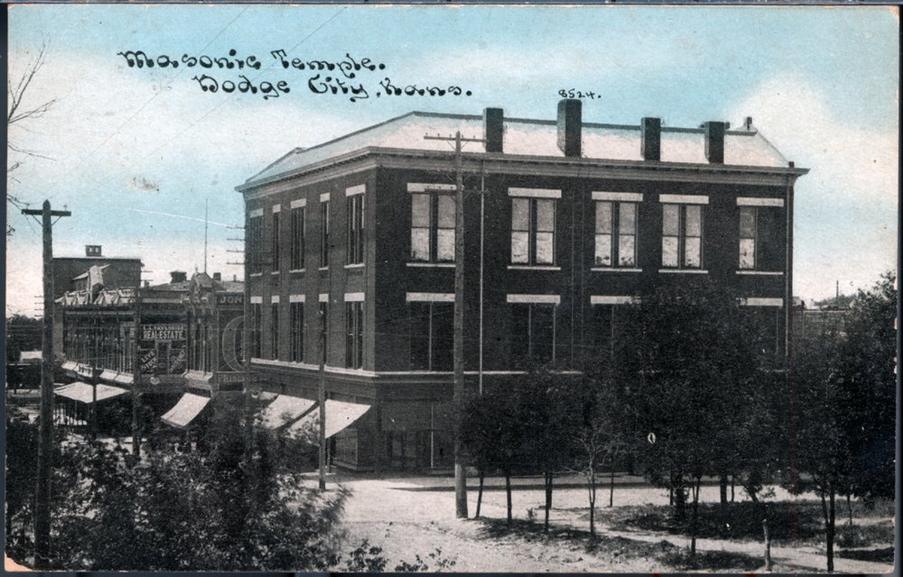 Masonic Temple, Dodge City, Ford County, Kansas