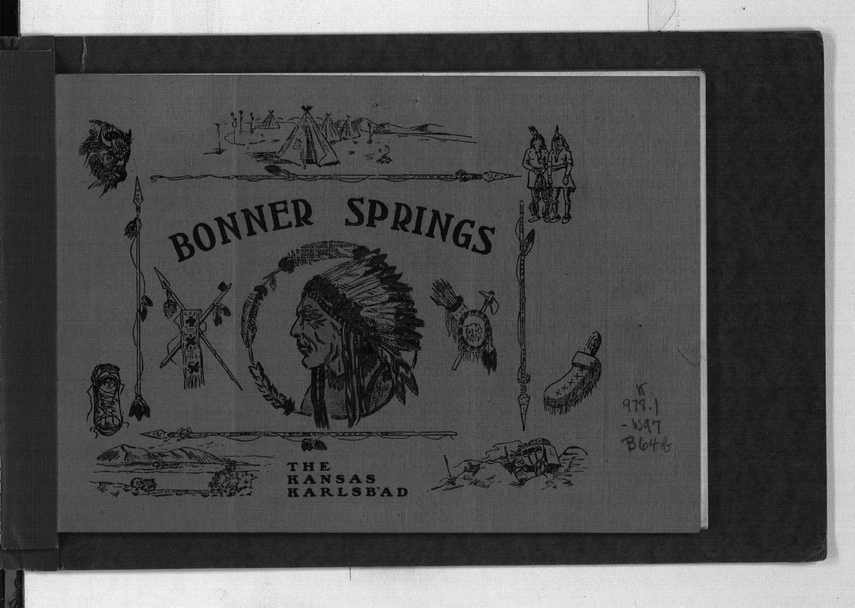 Bonner Spings. The Kansas Karlsbad - Front Cover