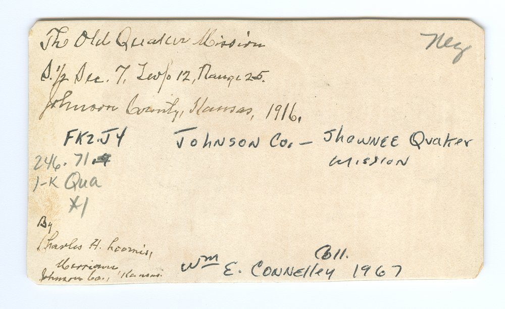 Quaker Mission, Johnson County, Kansas - 2