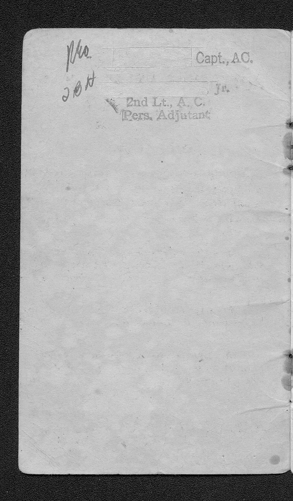 Carrol Victor Christian to Floriene Olive Graham Christian correspondece - 2