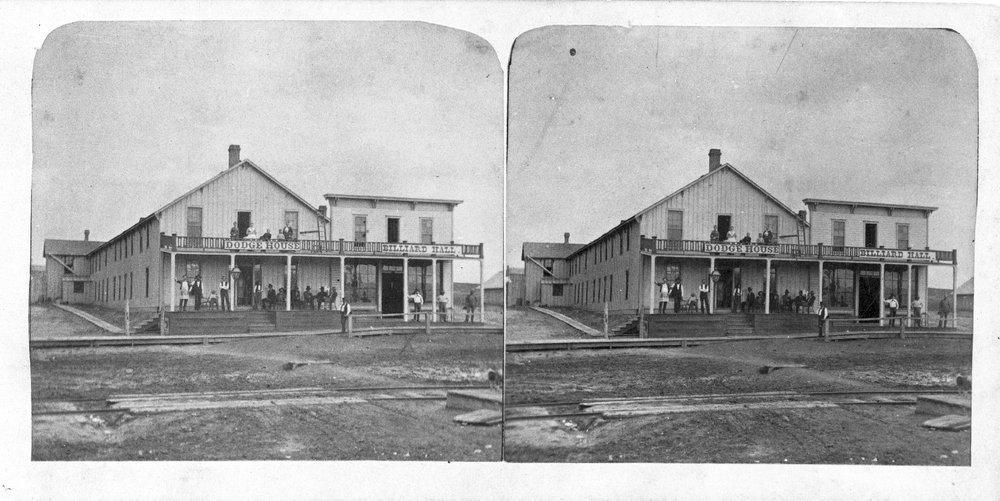 Dodge House and Billiard Hall, Dodge City, Kansas