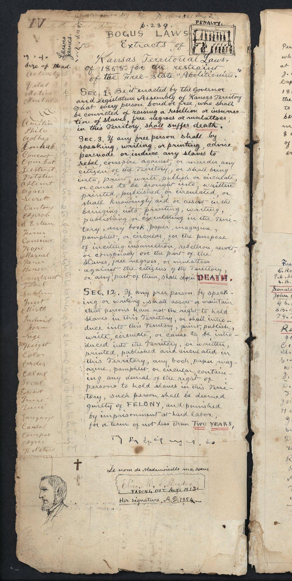 Samuel Reader's diary, volume 3 - IV