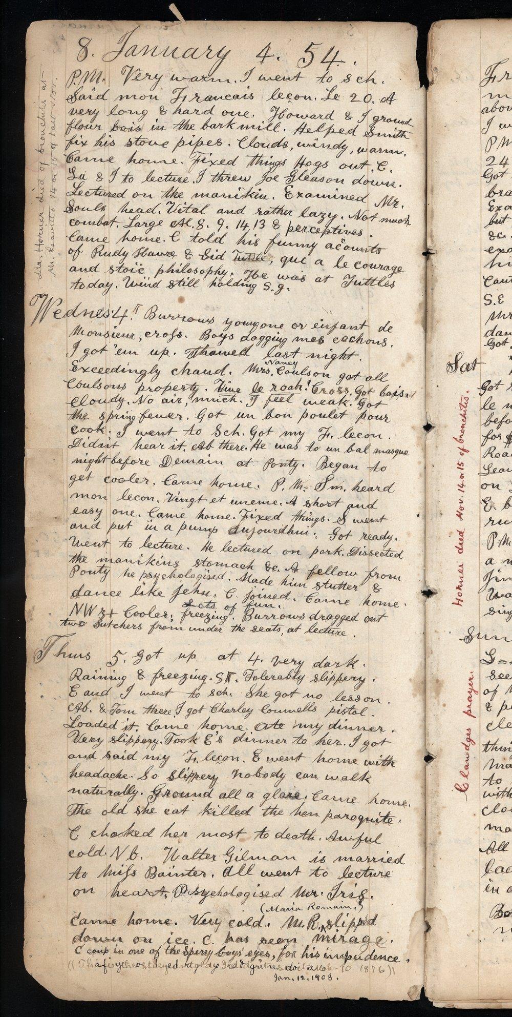 Samuel Reader's diary, volume 3 - 8