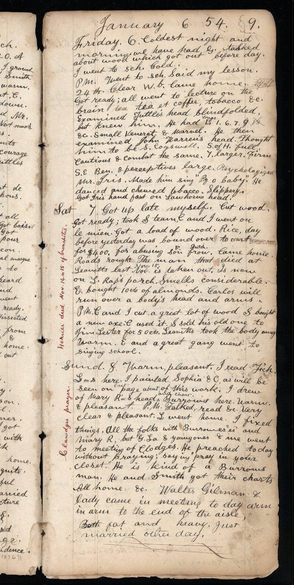 Samuel Reader's diary, volume 3 - 9