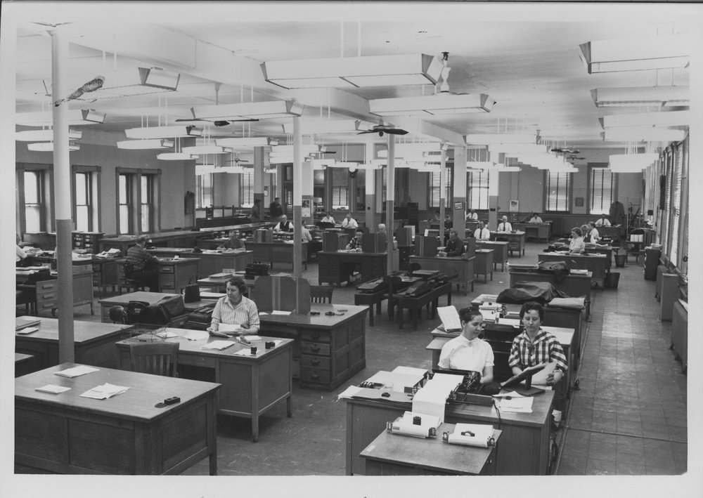 Atchison, Topeka & Santa Fe Railway Company freight office, Kansas City, Missouri
