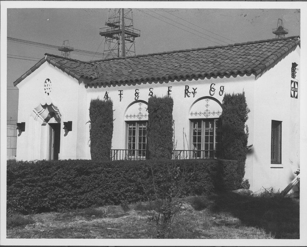 Atchison, Topeka & Santa Fe Railway freight station, Wilmington, California