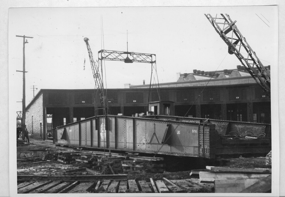 Atchison, Topeka and Santa Fe Railway Company roundhouse, Kansas City, Kansas