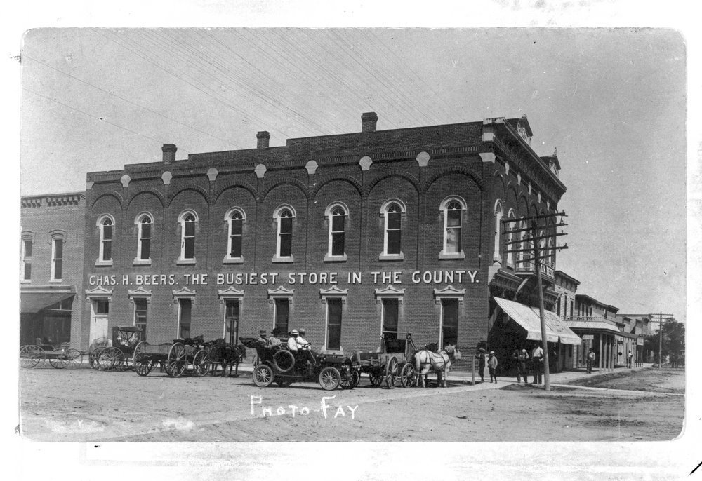 Chas. H. Beers store, Hoxie, Kansas