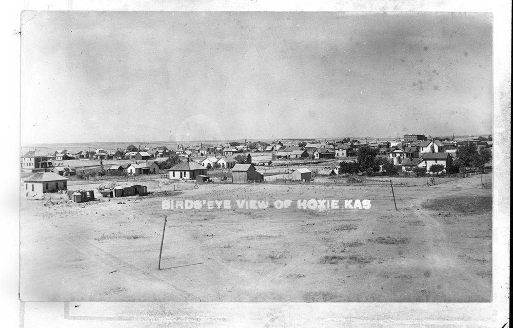 View of Hoxie, Kansas