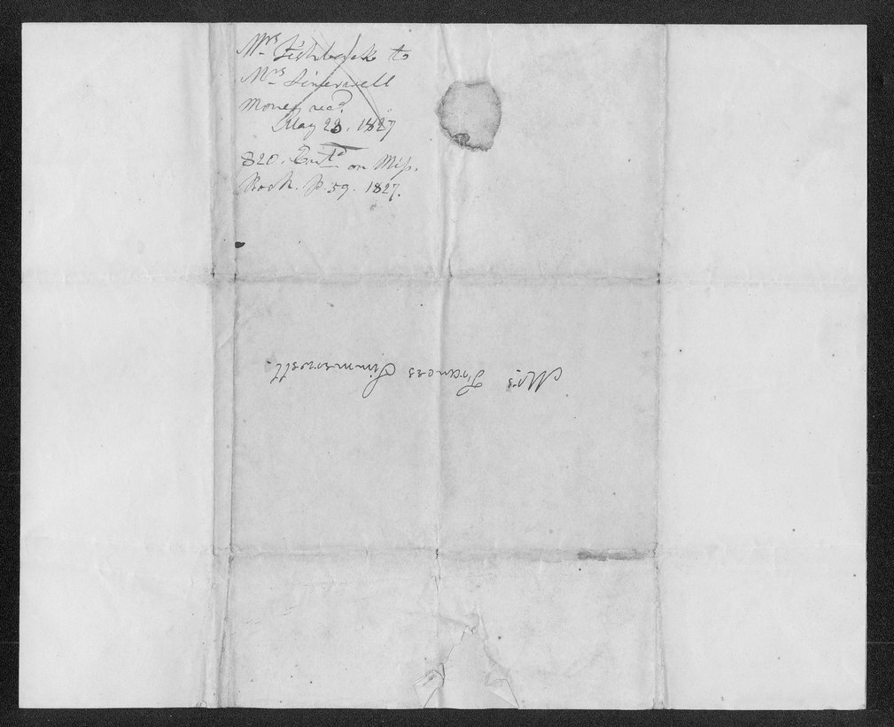 D.D. Fishbank to Mrs. Francis Simmerwell - 2