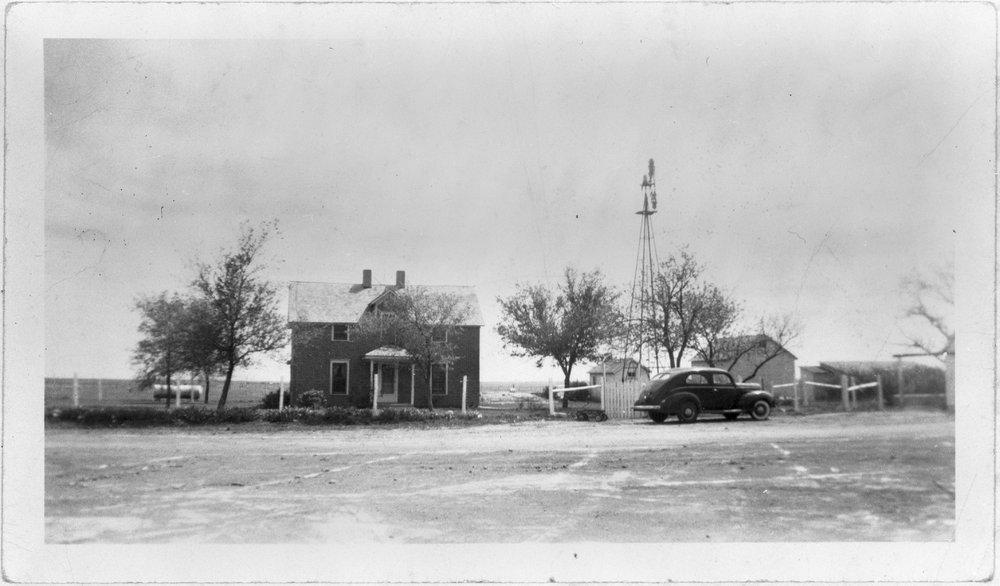 Immanuel Lutheran parsonage, Sheridan County, Kansas