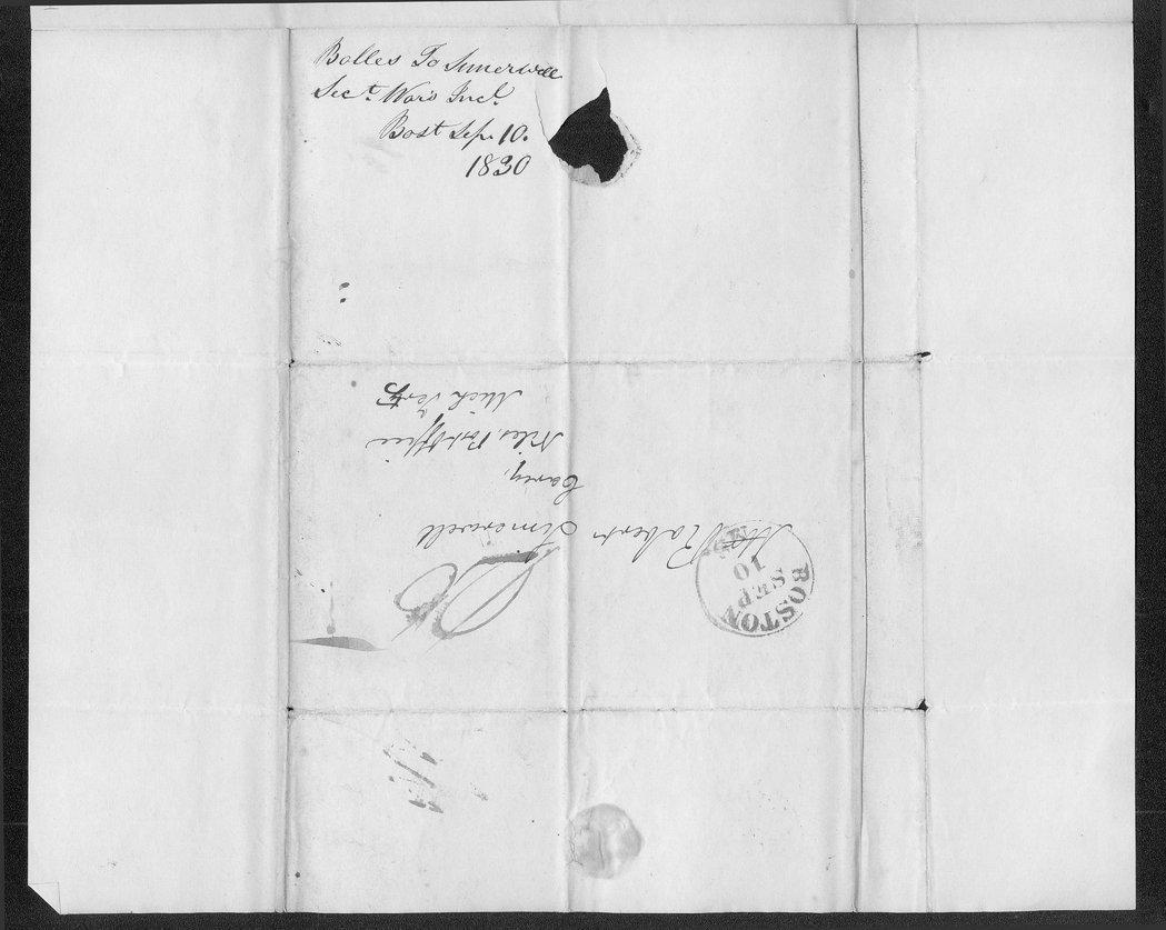 Samuel S. Hamilton to Robert Simerwell - 3