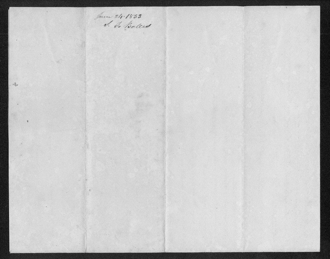 Robert Simerwell to Reverend Samuel Bolles - 4