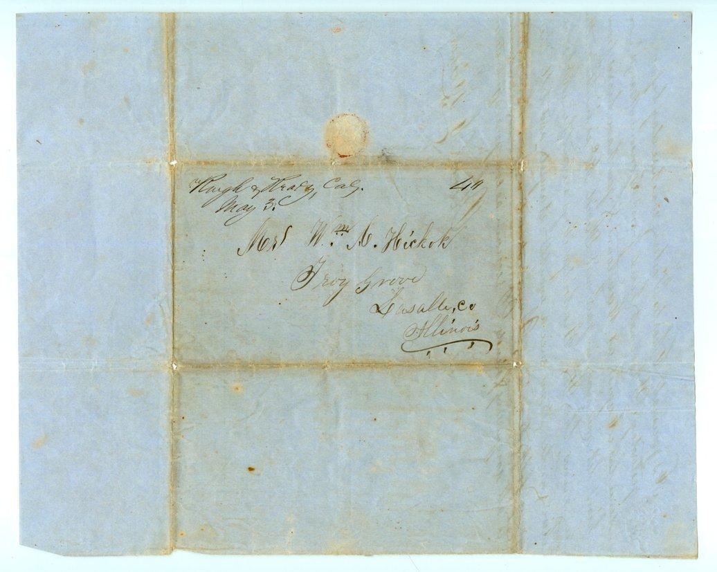 James Butler (Wild Bill) Hickok family collection - May 1, 1851, p4