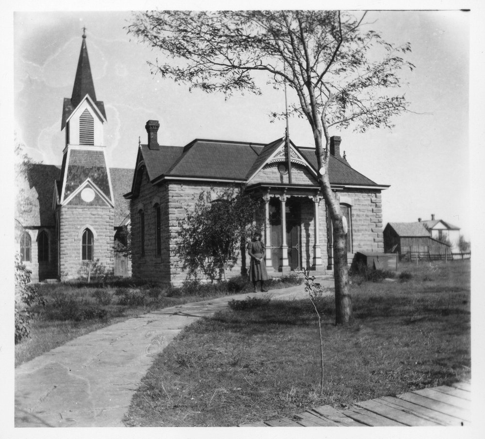 Public library, Cawker City, Kansas