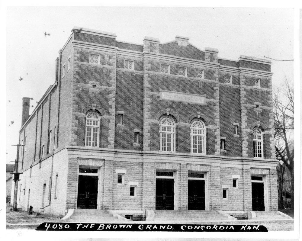 Brown Grand Opera House, Concordia, Kansas - 3