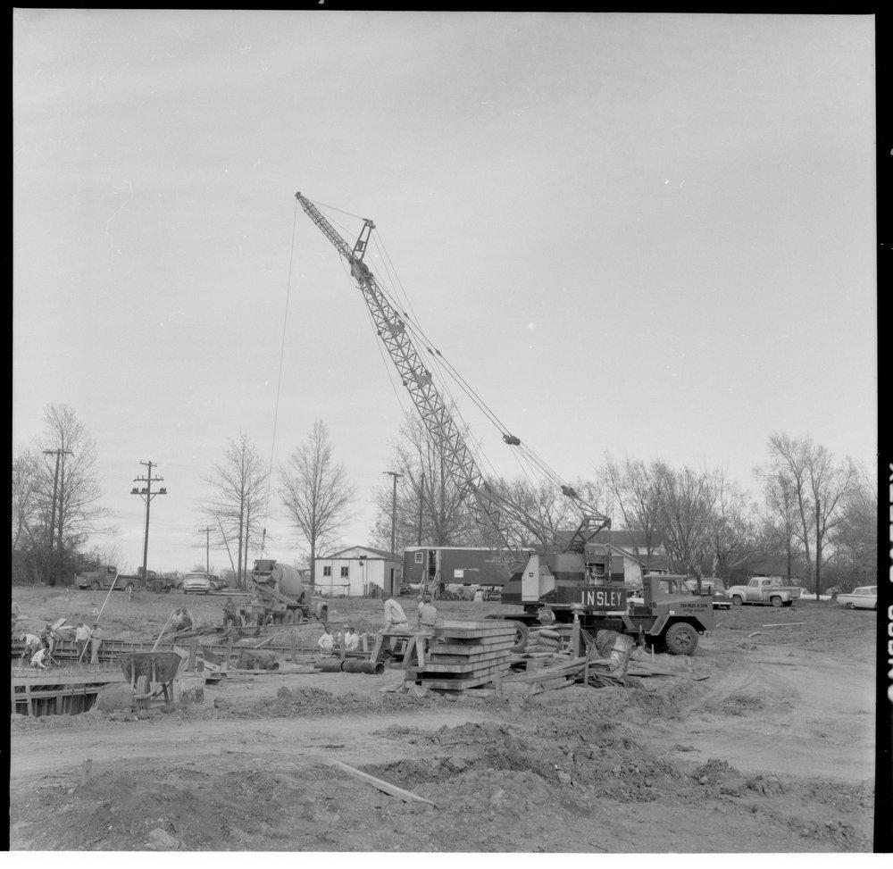 Swimming pool construction, Topeka, Kansas - 1
