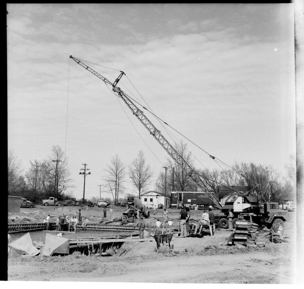 Swimming pool construction, Topeka, Kansas - 3