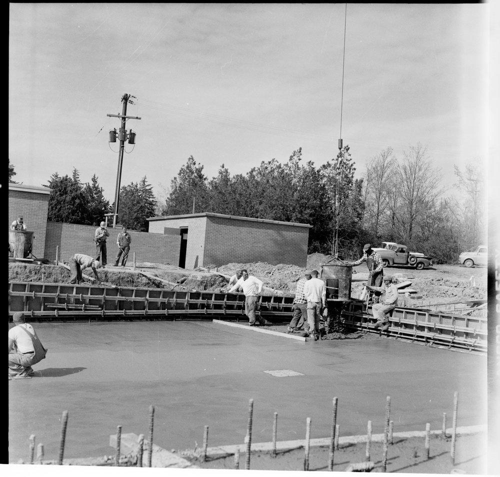 Swimming pool construction, Topeka, Kansas - 4