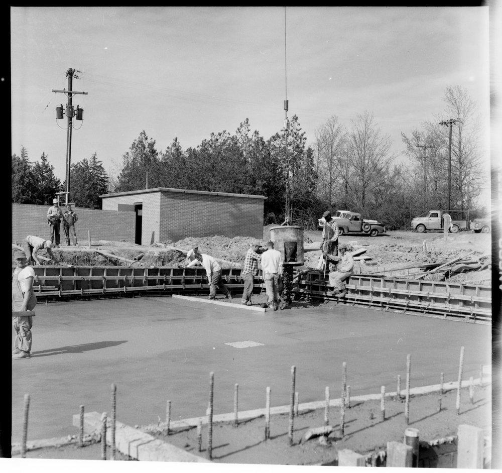 Swimming pool construction, Topeka, Kansas - 5