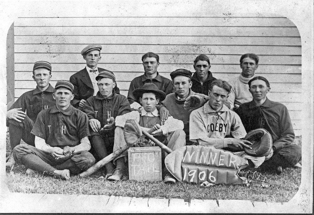 Baseball team, Colby, Kansas