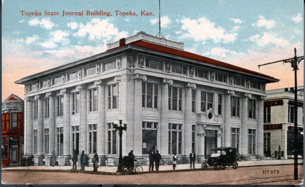 Topeka State Journal building, Topeka, Kansas