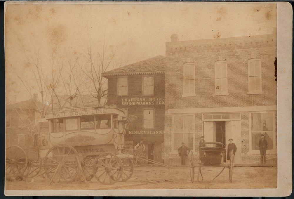 Kinley and Lannan Carriage Works, Topeka, Kansas