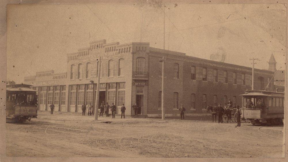 Western Foundry Machine Works, Topeka, Kansas