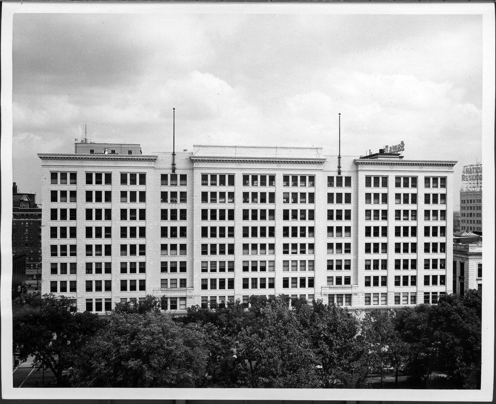 Atchison, Topeka & Santa Fe Railway Company's general office building, Topeka, Kansas