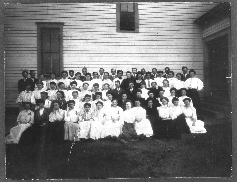 Students in Hoxie, Kansas
