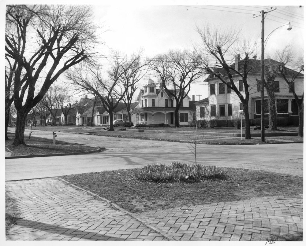 Intersection of Eleventh and Elm Streets, Coffeyville, Kansas