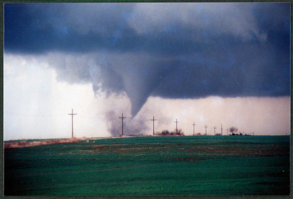 Tornado near Caldwell, Kansas - 11