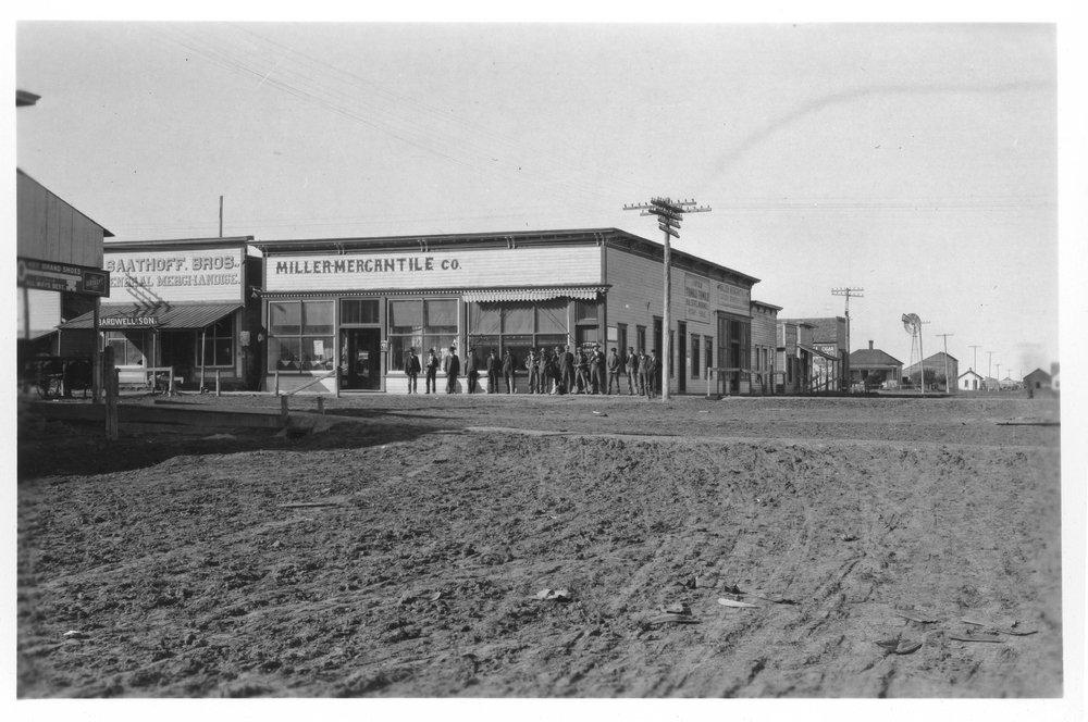 Street scenes, Selden, Kansas - 3