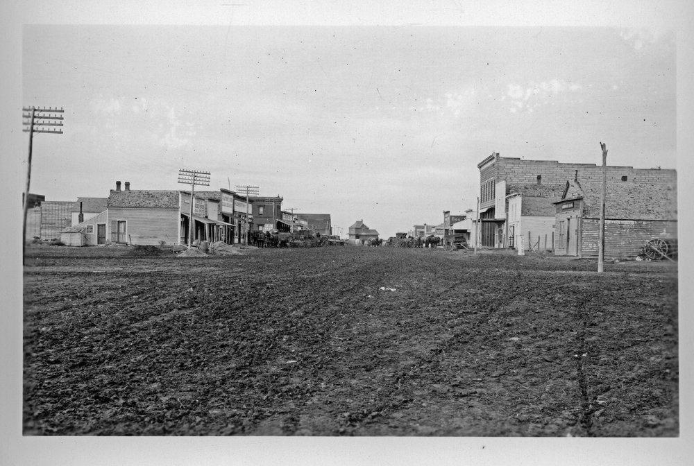 Street scenes, Selden, Kansas - 4
