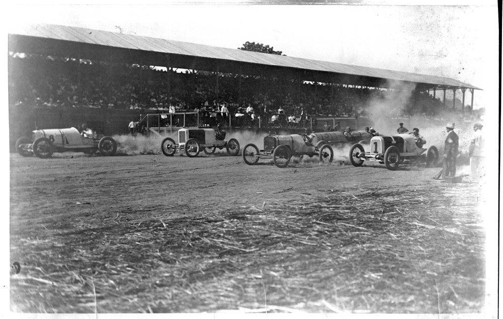 Auto races, Abilene, Kansas