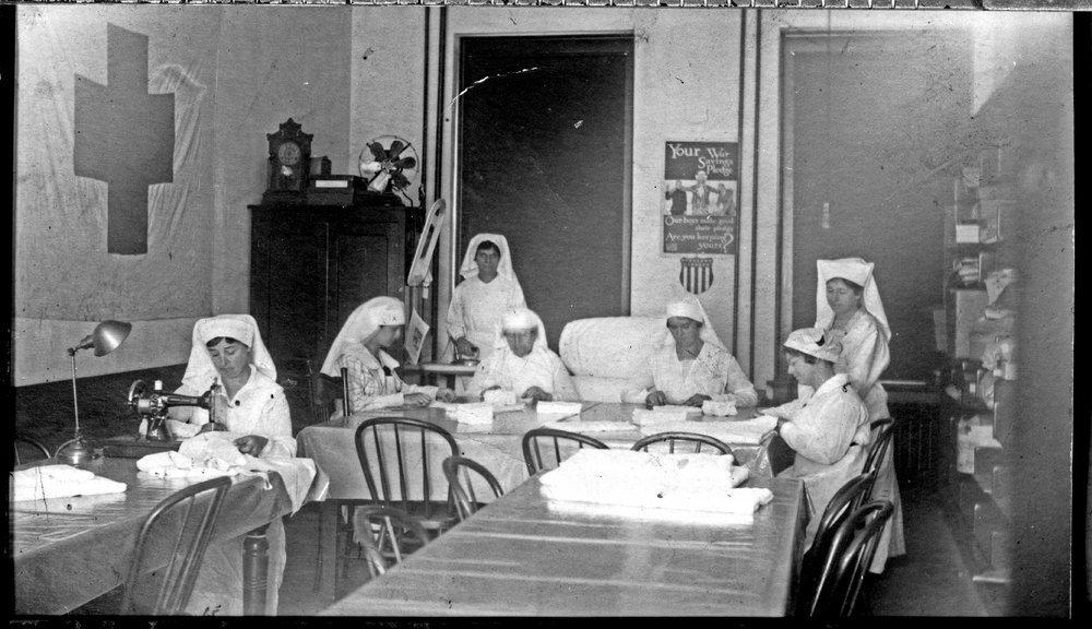 Red Cross Workers, Seneca, Kansas