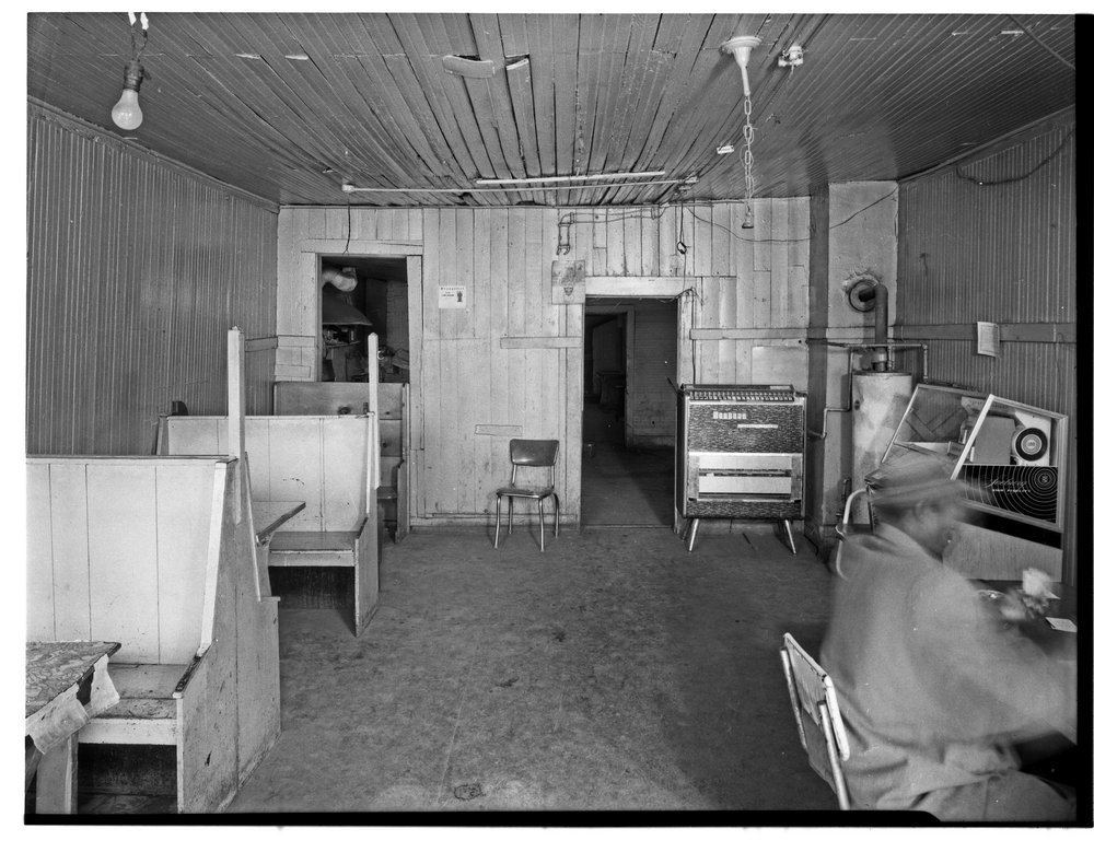 Red Line Carry Out interior, Topeka, Kansas