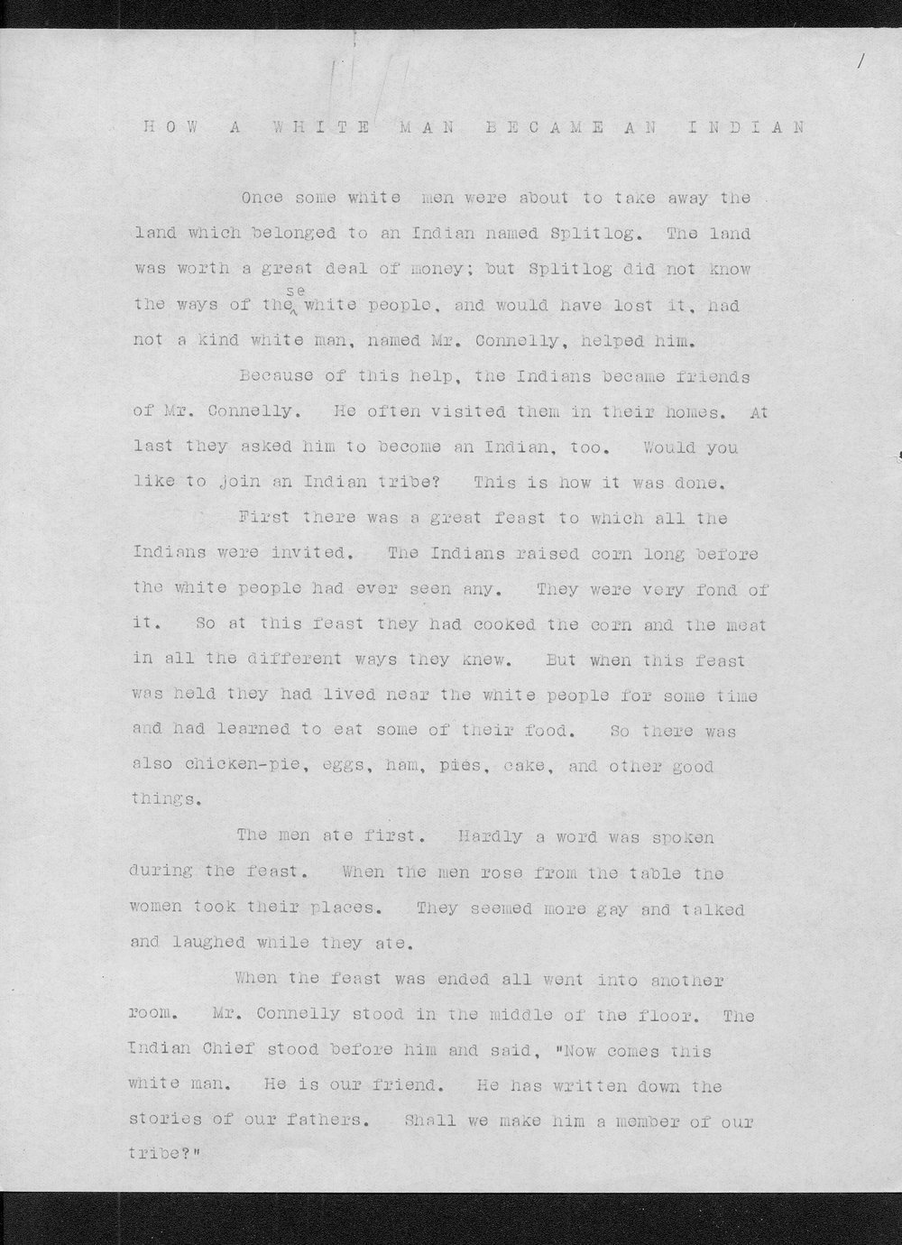Miss Edna Clyne's manuscript stories and correspondence - 4