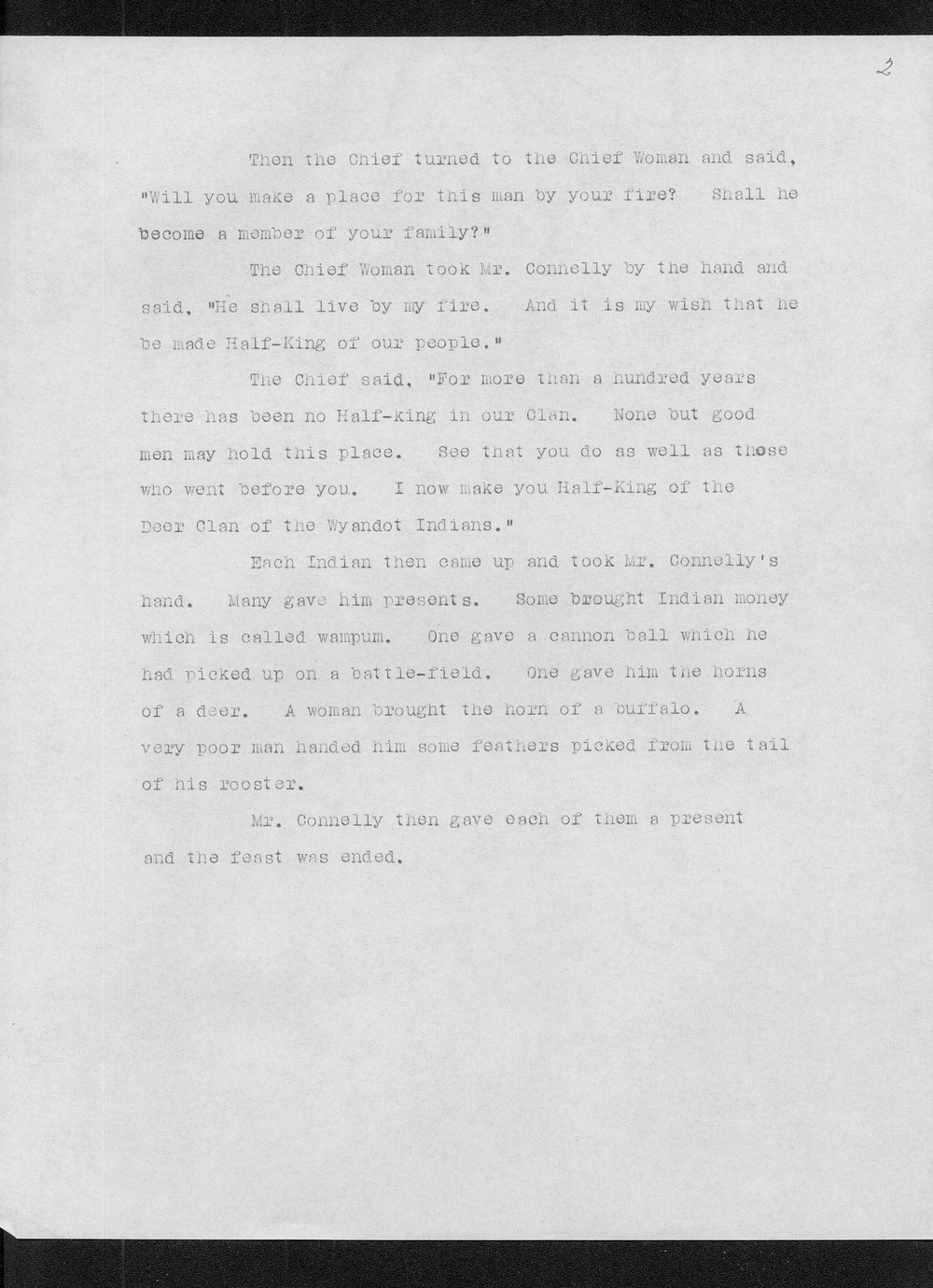 Miss Edna Clyne's manuscript stories and correspondence - 5