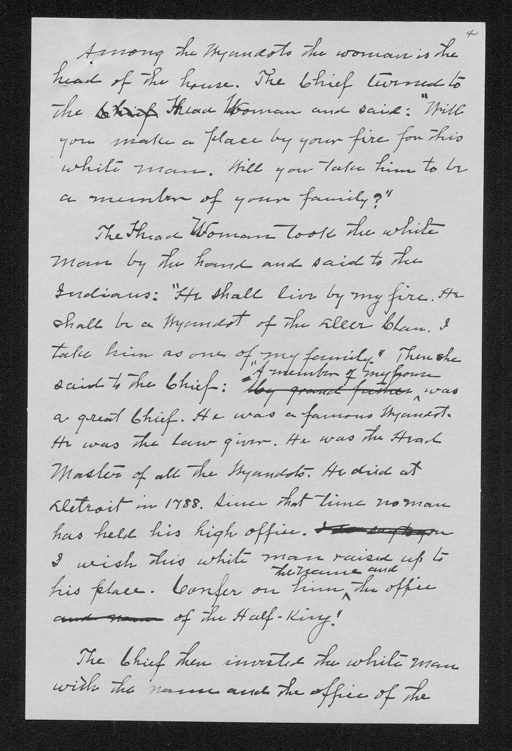 Miss Edna Clyne's manuscript stories and correspondence - 9