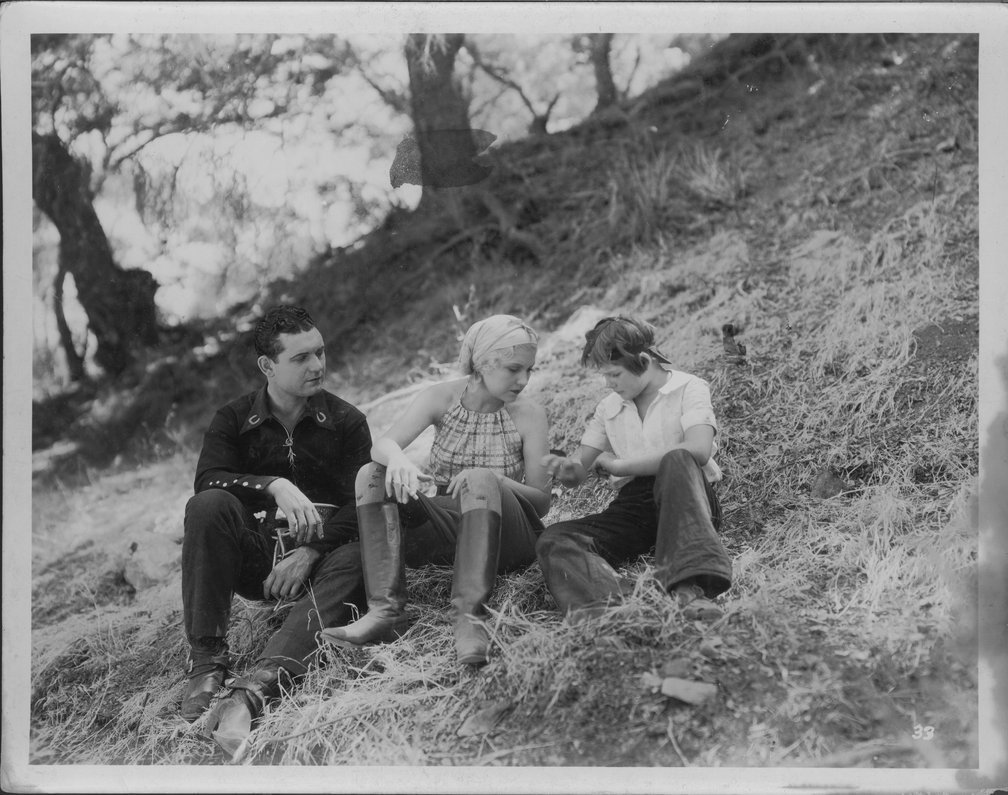 Reb Russell photo collection - Reb with unidentified actor and actress.  Photo #8