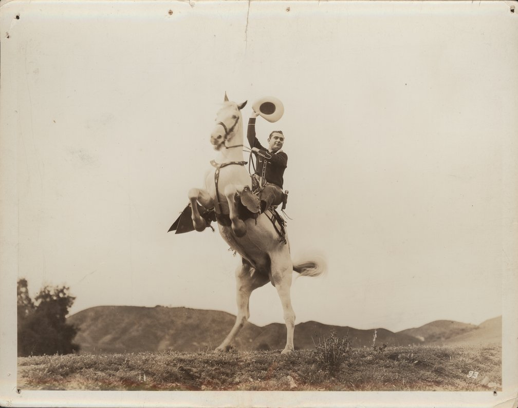 Reb Russell photo collection - Reb on Rebel.  Photo #11