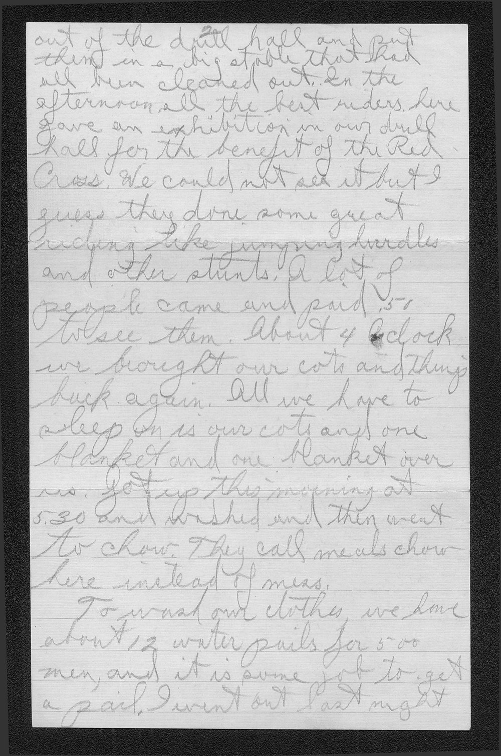Clark Bruster to his family - 8