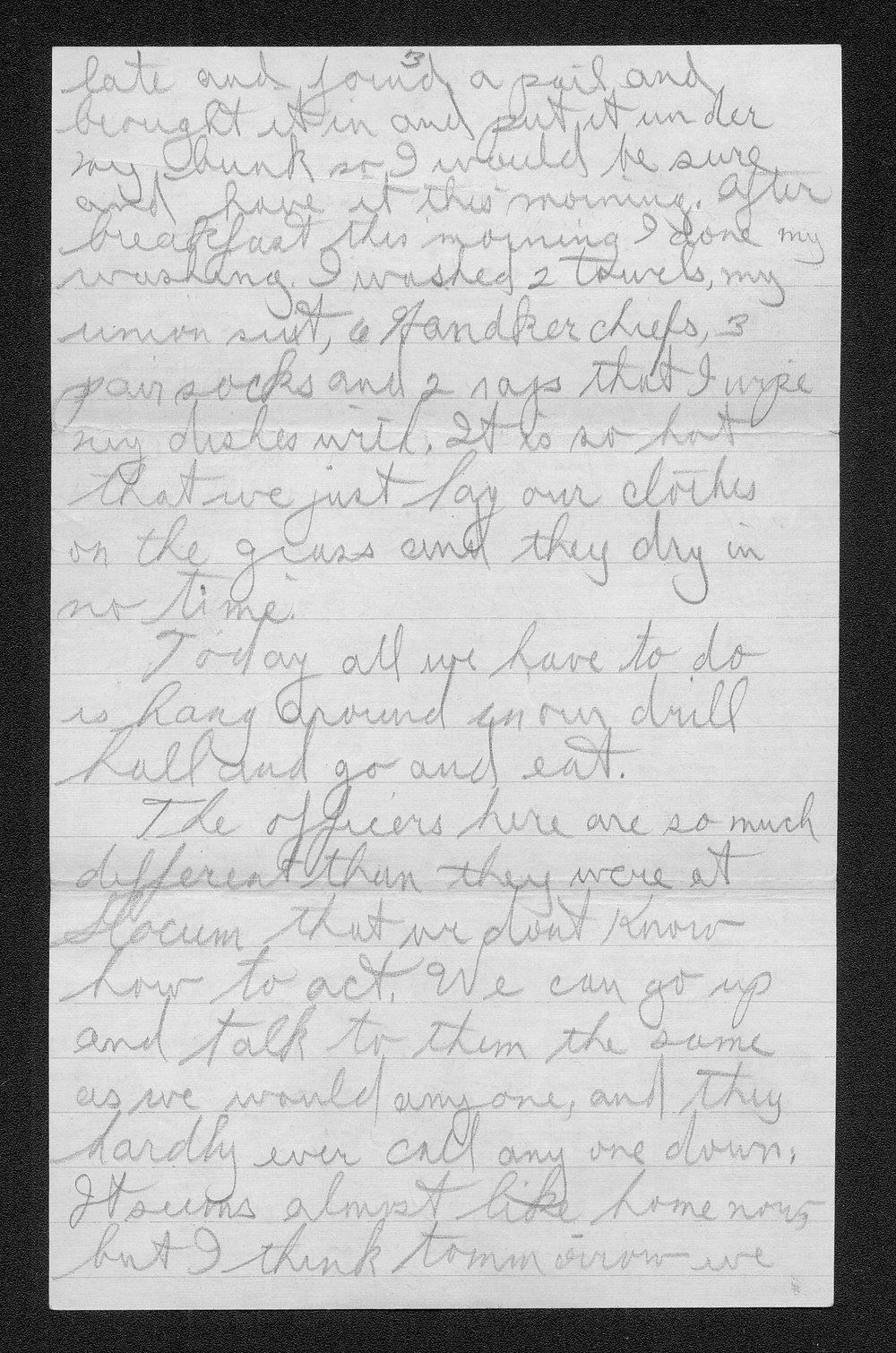 Clark Bruster to his family - 9