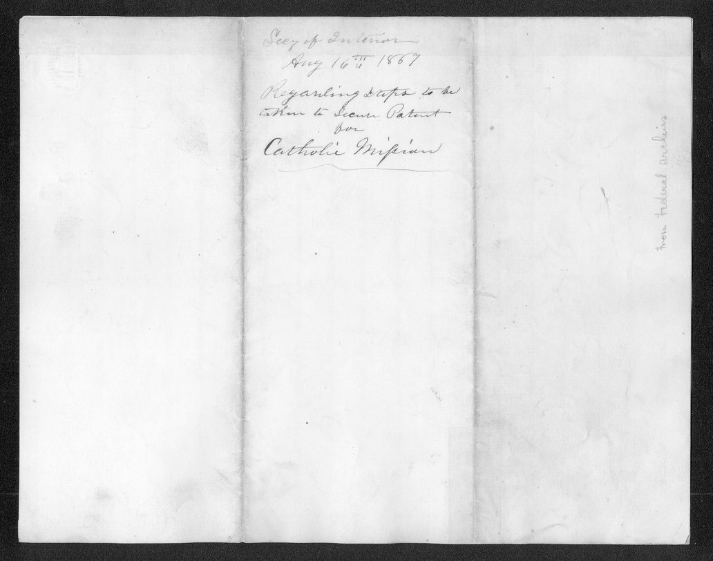 Orville Hickman Browning to the Commissioner of the General Land Office - 3